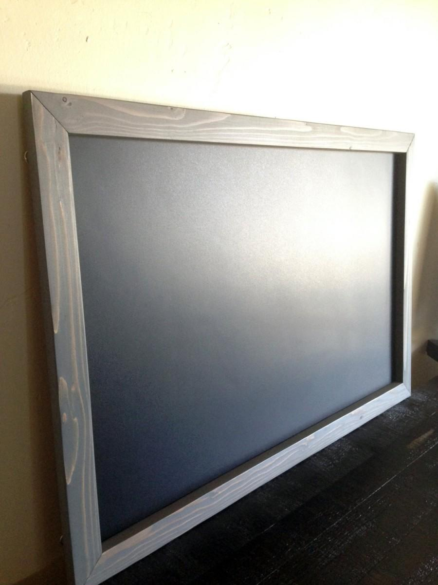large framed magnetic chalkboard 20x30 rustic frame reclaimed wood rustic large chalkboard wedding chalkboard kitchen chalkboard