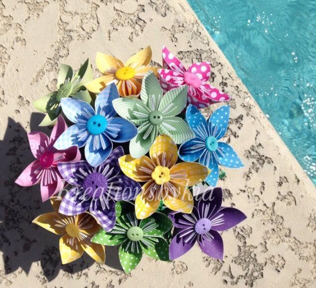 Summer breeze kusudama origami flower bouquetflower arrangement summer breeze kusudama origami flower bouquetflower arrangement wedding bridal shower baby shower baby shower reception mightylinksfo