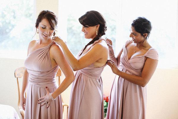 زفاف - The Tailored Infinity Dress      design your own dresses- hundreds of colors, hem styles, custom sizes and lengths