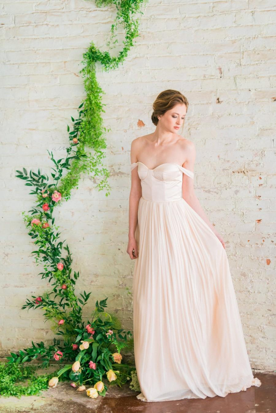 pink wedding dresses blush tulle wedding dress Blush wedding dresses
