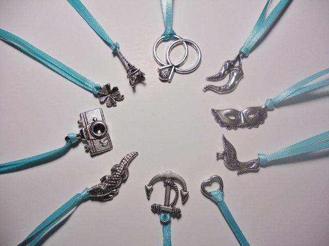 10 cake pulls wedding tradition charms bridal shower game wedding cake decoration
