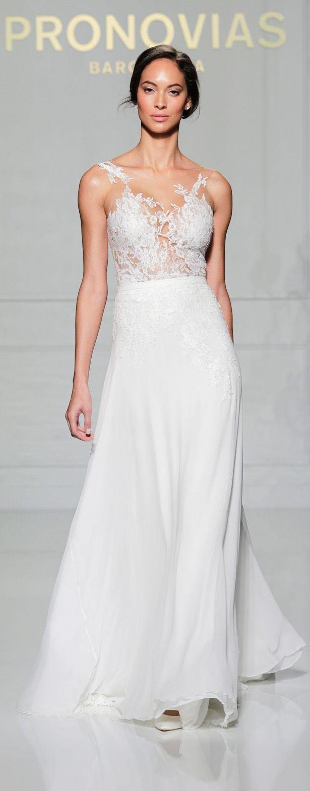 Wedding - New York Bridal Week: Pronovias 2016