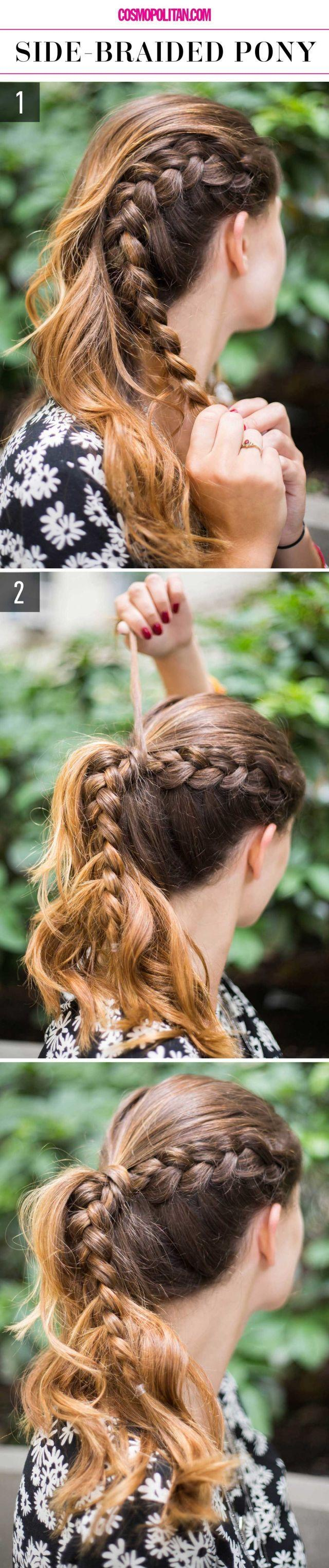 Свадьба - 15 Super-Easy Hairstyles For Lazy Girls Who Can't Even