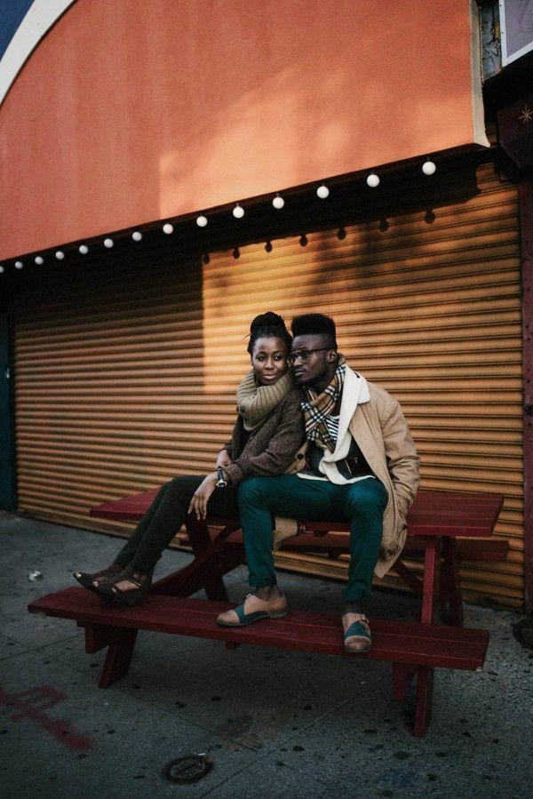 Wedding - Stylish Downtown NYC Engagement Photos