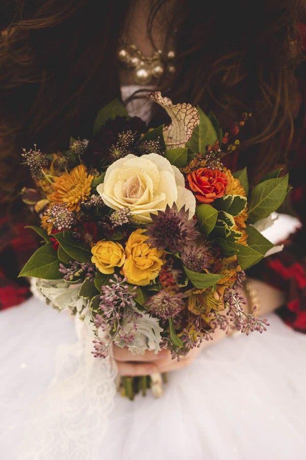 Hochzeit - Vintage Fall Wedding Inspiration