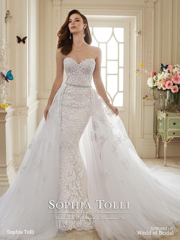 b43cddf49d2 Sophia Tolli Spring 2016 Wedding Dresses  2409508 - Weddbook