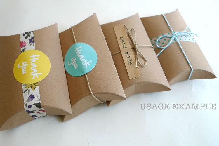 pillow boxes wholesale canada kraft custom