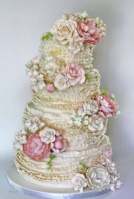 Over-the-top Wedding Cake! Gorgeous Wedding Cakes #2409779 - Weddbook