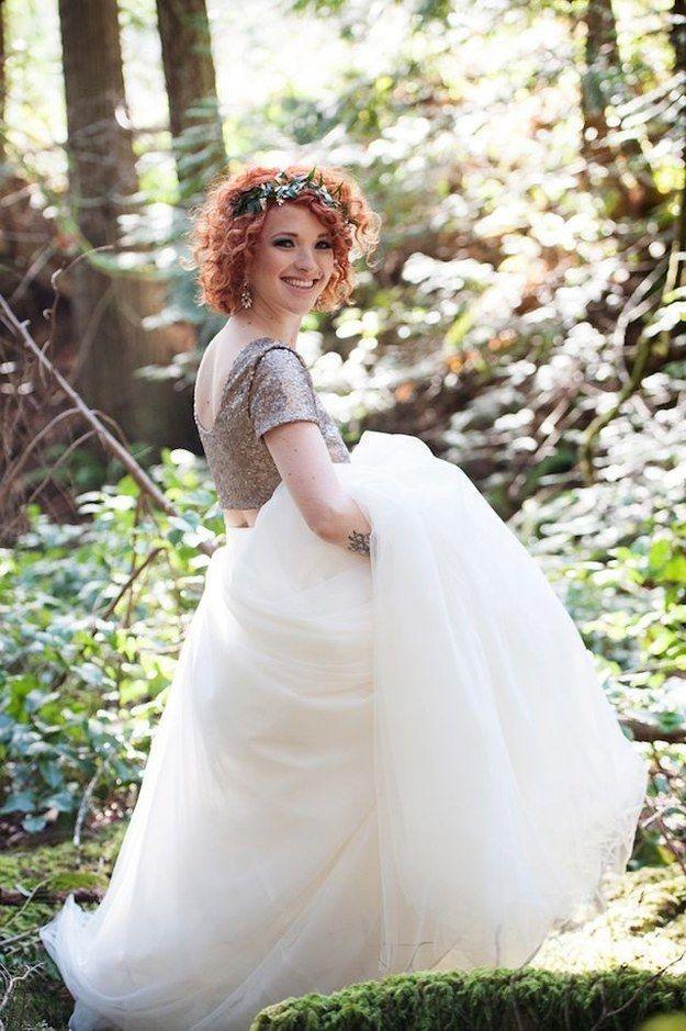 d5b93e02b2 36 Ultra-Glamorous Two-Piece Wedding Dresses #2409853 - Weddbook