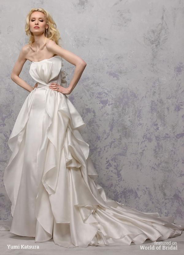 Wedding - Yumi Katsura Spring 2016 Wedding Dresses