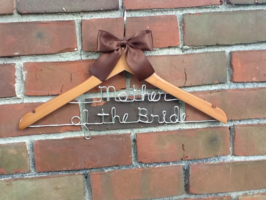 Mariage - SALE GRAND OPENING - Two tier personalized wedding hanger