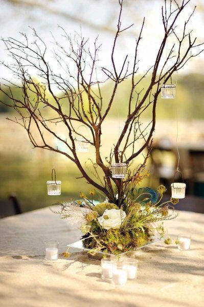 30 Chic Rustic Wedding Ideas With Tree Branches 2409990 Weddbook
