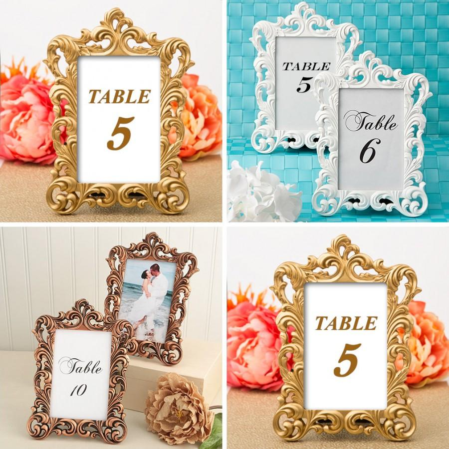 Wedding Table Number Holders Wedding Decor Ideas