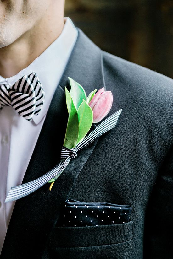 Свадьба - Hot Pink And Black Industrial Modern Wedding