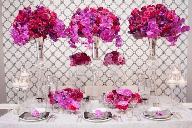 Mariage - Wedding Ideas : Long Reception Tables