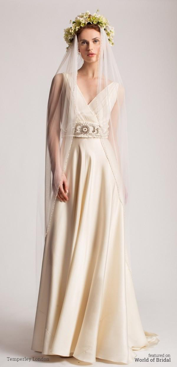 Wedding - Temperley London Spring 2016 Wedding Dress