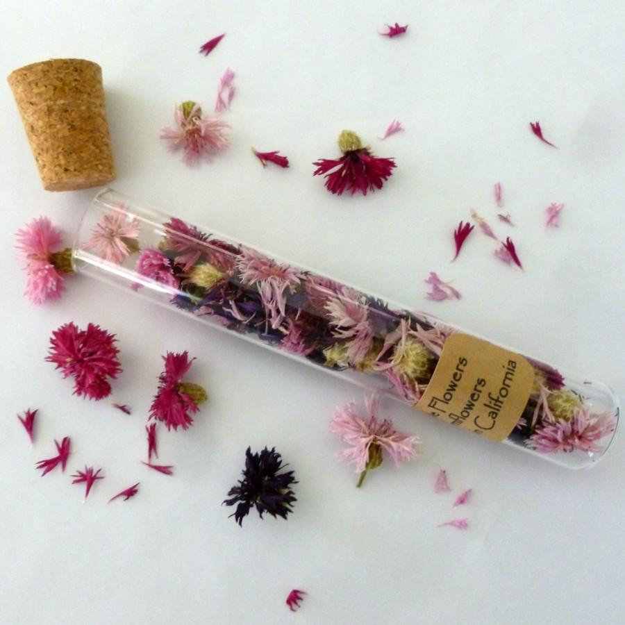 Edible Real Flowers For Cake Decorating : Pink Cornflowers, Dry Cornflowers, Real, Flower Petals ...