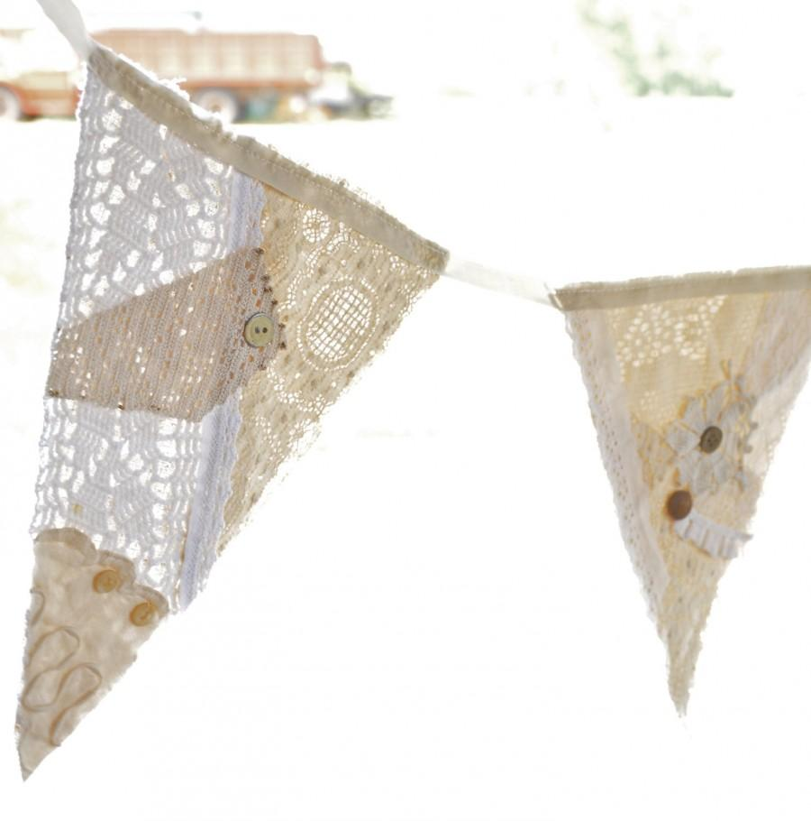 shabby chic bunting - photo #31