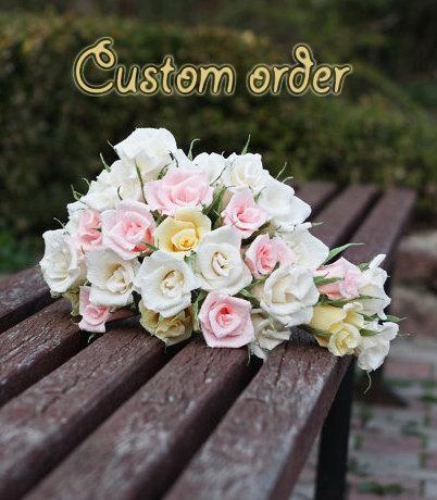 Mariage - custom order for Chanae