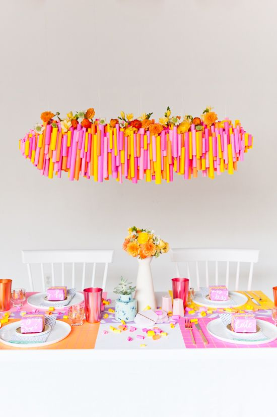 Mariage - 5 (Budget-Friendly) DIY Ways To Colorize Your Thanksgiving Dinner Table - Paper And Stitch