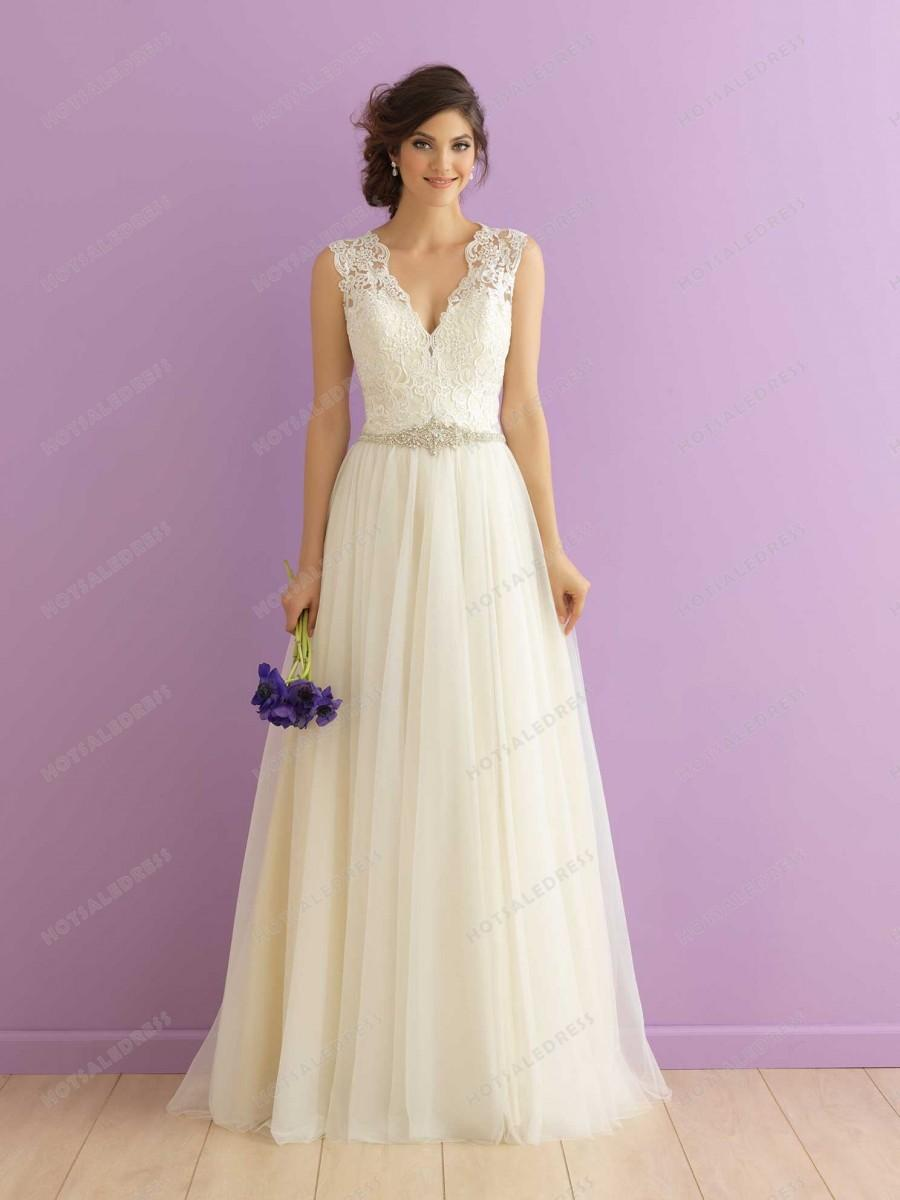Wedding - Allure Bridals Wedding Dress Style 2912