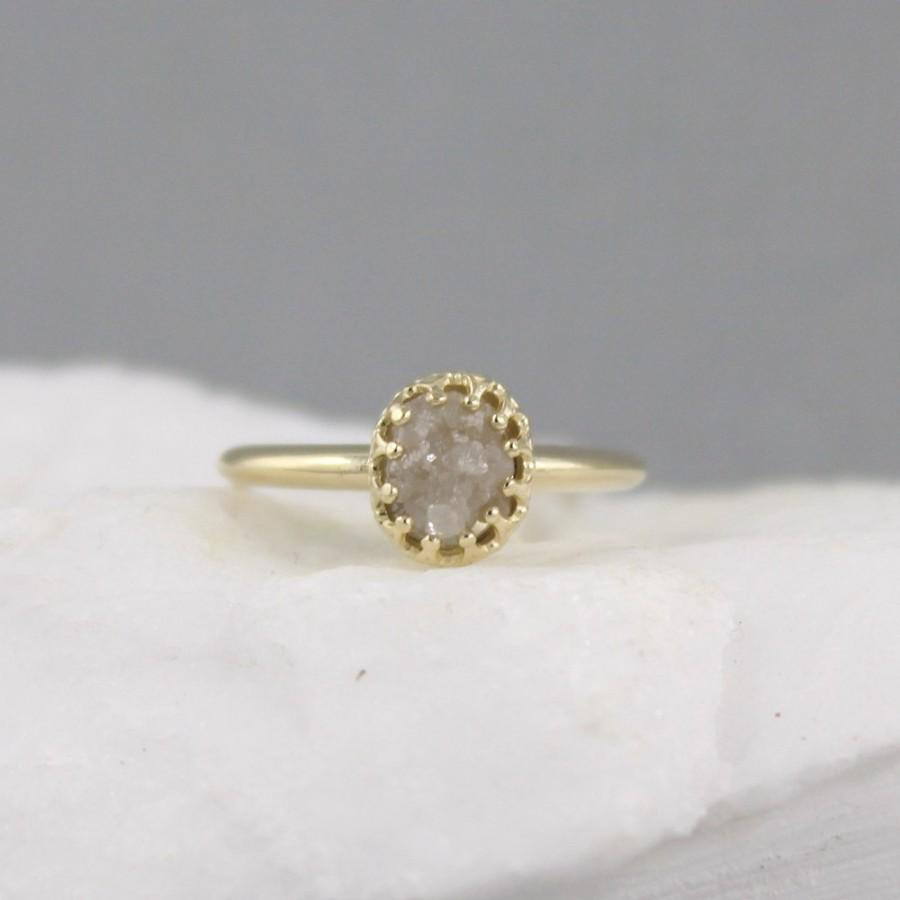 rings crystal raw large free engagement pin ring diamond natural conflict wedding