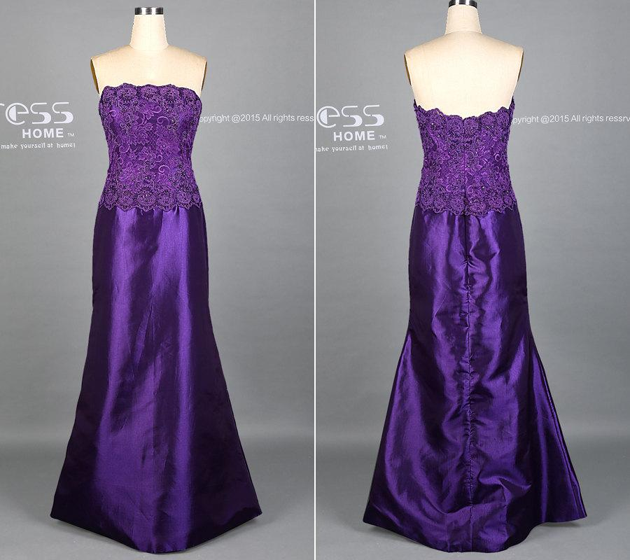 5113803175bd Custom Made Purple Long Prom Dress Purple Lace Wedding Party Dresses Simple  Elegant Prom Dress Evening Dress Formal Dress DH364
