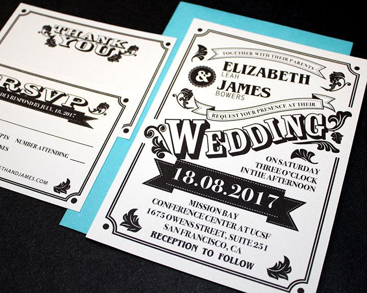 Printable Wedding Invitation Wedding Invitation Set Wedding Invites