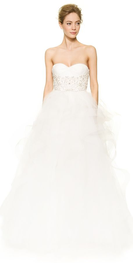 Wedding - Shopbop.com - Reem Acra Isabella Sweetheart Tulle Gown