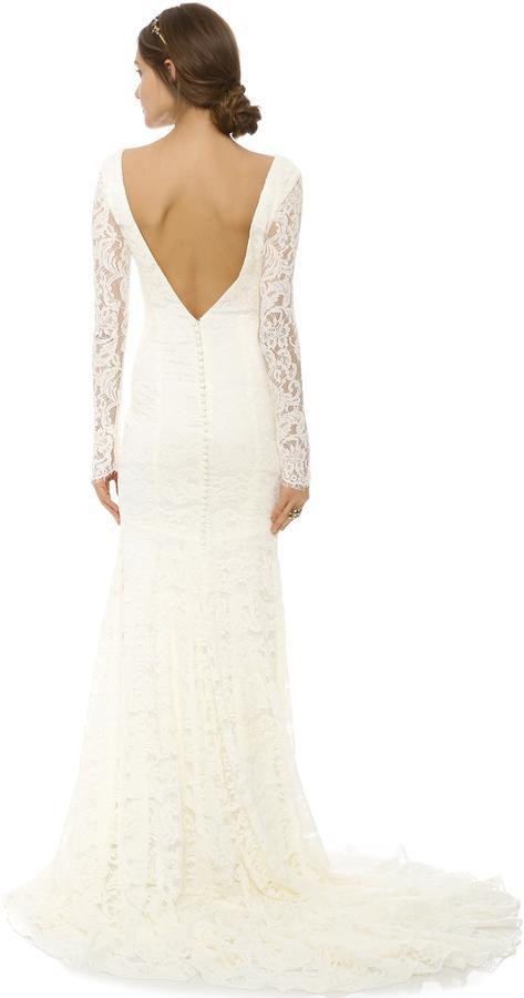 زفاف - Theia Nicole Lace Gown