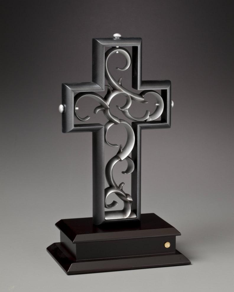 Hochzeit - Unity Cross® Black and Pewter color