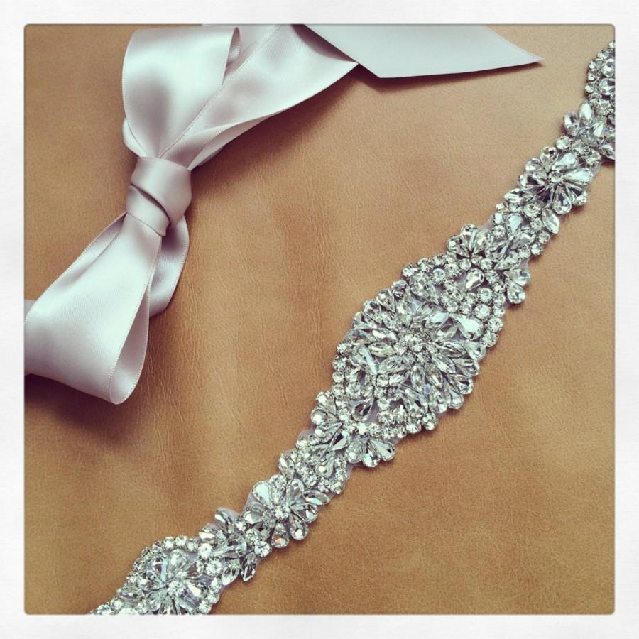 Rhinestone belt wedding dress sash tennessee 2413164 for Rhinestone sash for wedding dress