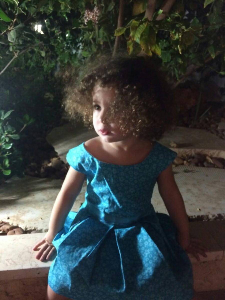 Свадьба - Fun Blue Party Dress for Young Girls with a Long Sleeve Bolero