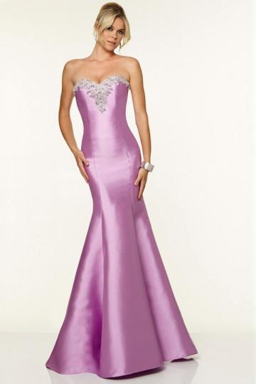 Wedding - Lilac Mermaid Prom Dress