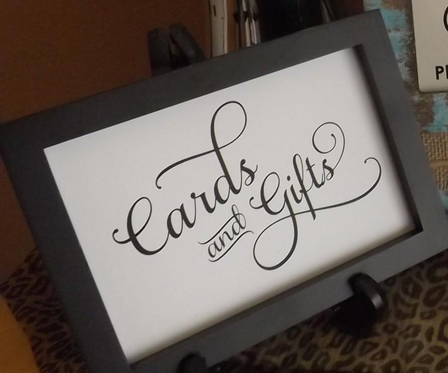 Hochzeit - Cards and Gifts Signs, 8x10 Signs Cards, Cards, Gifts, Signs, Wedding Sign