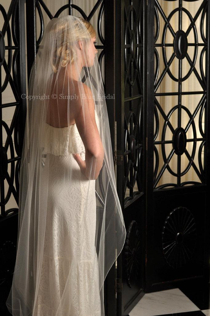 Mariage - Veil for Brides - Pencil Edge Veil