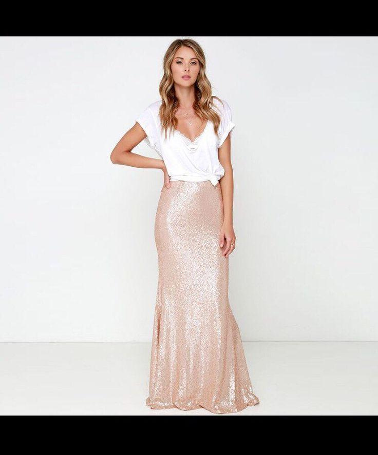 Wedding - Dazzling Mermaid Sequin Skirt