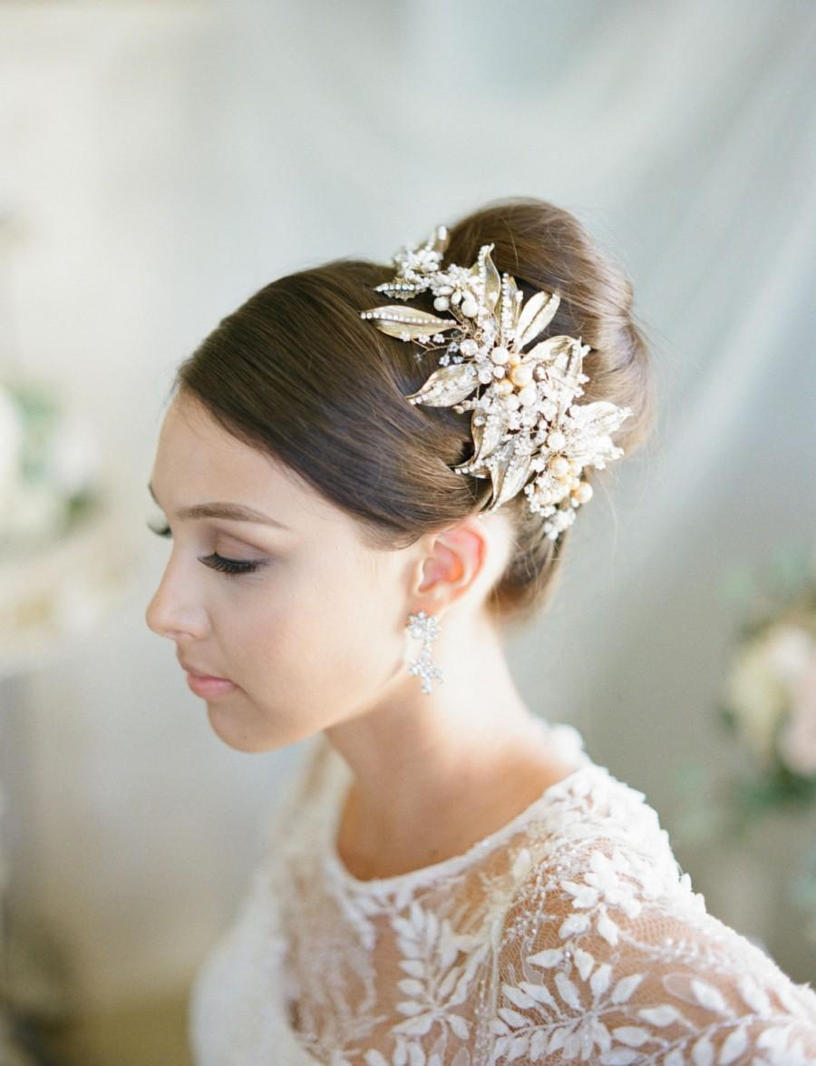 Nice And Easy To Manage Hair For A Perfect Wedding Hairstyle Bride Sparkle