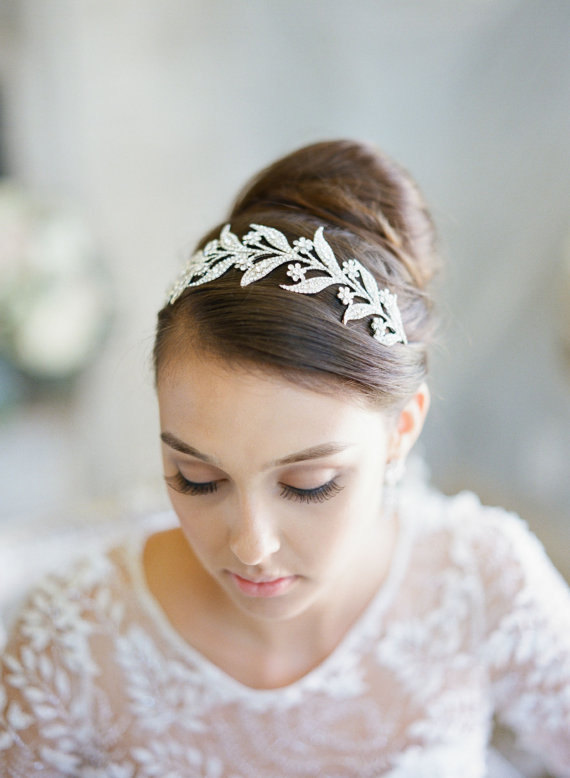 Mariage - Bridal Tiara -  Lady MARY, Swarovski Bridal Tiara, Downton Abbey Tiara, Wedding Tiara, Bridal Crown, Lady of the Manor Headpiece