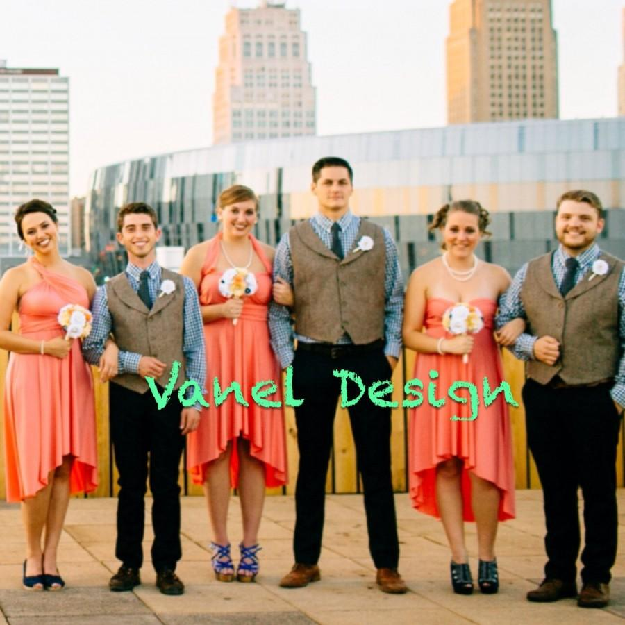 Свадьба - Bridesmaid Dress - INFINITY Bridesmaids Dress  CUSTOM Designed CONVERTIBLE Bridesmaids Dress, Bridesmaid Dress