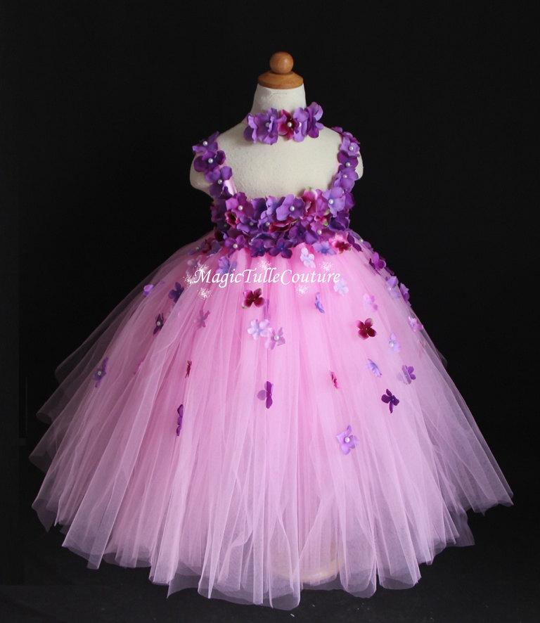 Girls Tutu Party Dress - Ocodea.com