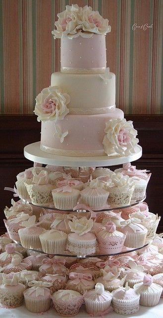 Свадьба - Wedding Cupcakes By Cotton & Crumbs
