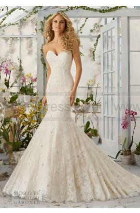 Mariage - Mori Lee Wedding Dresses Style 2820