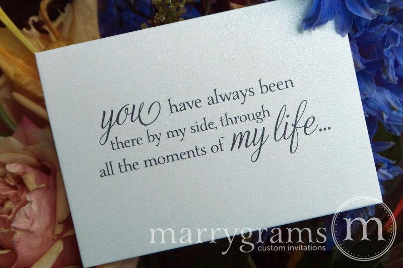 Mariage - Wedding Card Asking to Give You Away...Way to Ask Someone Special to Walk Me Down the Aisle / Give Me Away... Father of the Bride Card CS08