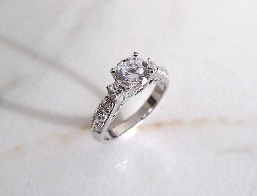 زفاف - AmourJewellery - Fine Handcrafted Engagement Ring; Style RB0009; 14K Gold