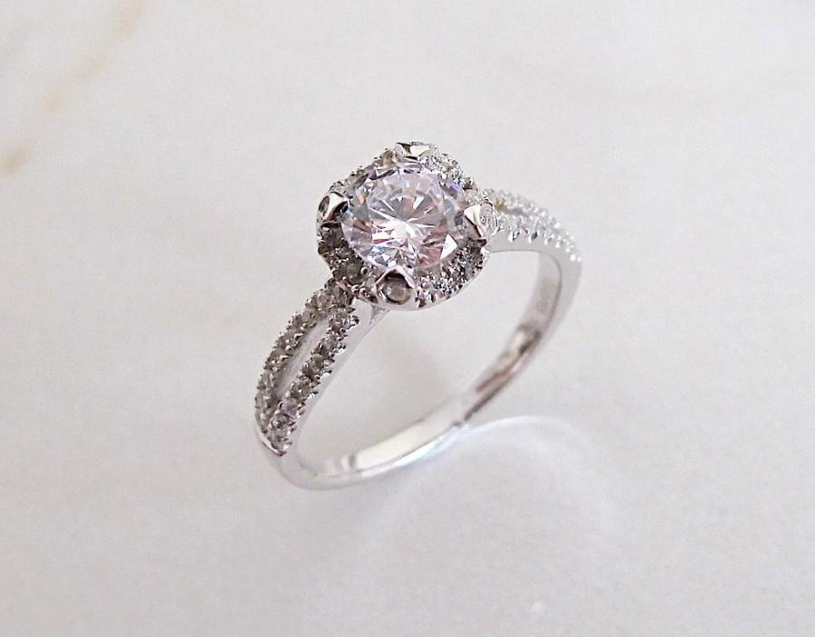 white diamond img royal fine preset ring floral halo embrace stg rings item jewelry gold engagement