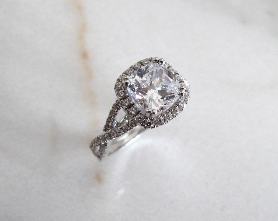 زفاف - AmourJewellery - Fine Handcrafted Engagement Ring; Style RB0037; 14K Gold