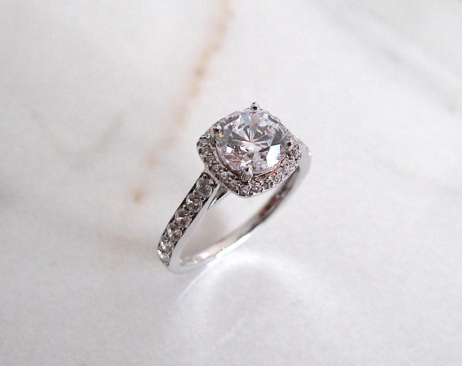 Wedding - AmourJewellery - Fine Handcrafted Engagement Ring; Style RB0002; 14K Gold