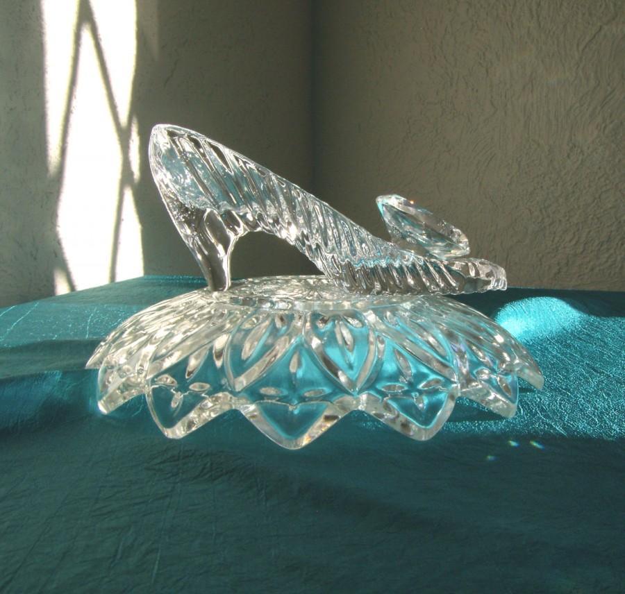 cinderella glass slipper wedding reception shower centerpiece rh weddbook com