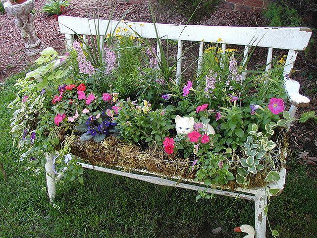 Décoration De Jardin - 18 Bonnes Idées Des Meubles Anciens #2414503 ...